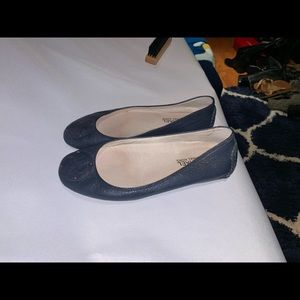 Comfortable leather flats